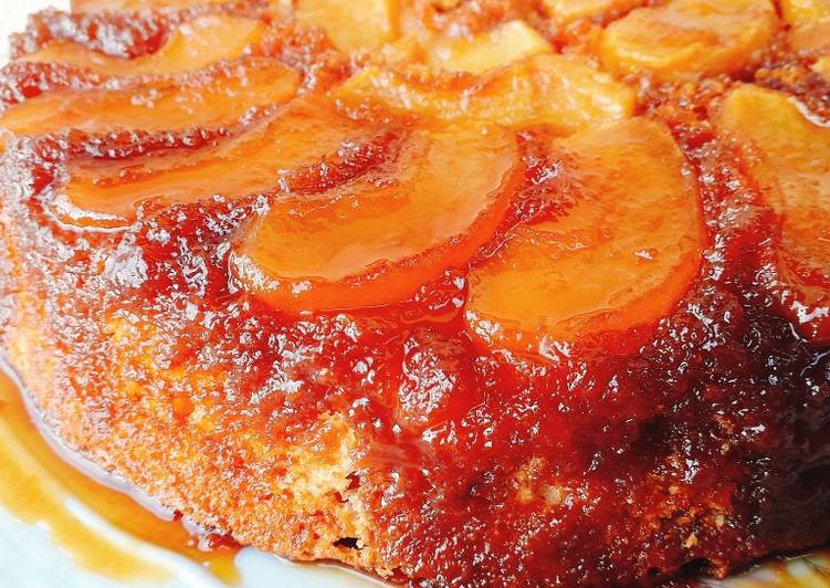 Easiest Way to Make Speedy Apple cake with caramel