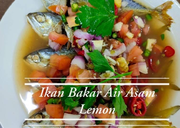 Ikan Bakar Air Asam Lemon - resepipouler.com