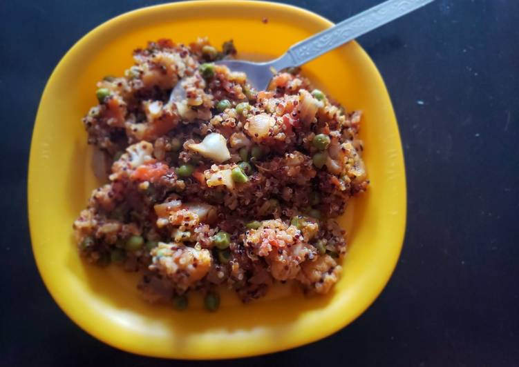 Quinoa mouthwatering - Laurie G Edwards