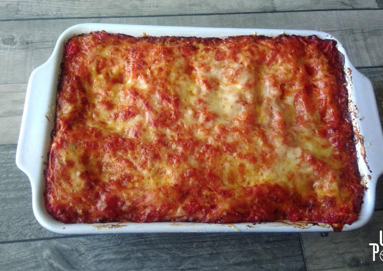 recette Cannelloni à la viande et au chèvre le délicieux