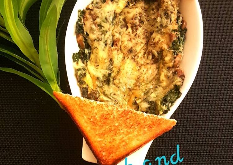 Spinach and Mushroom Florentine