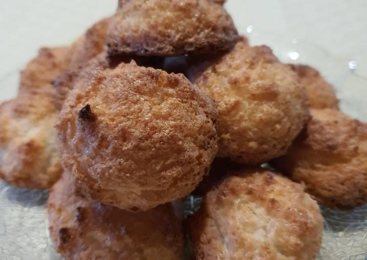 Biscuits moelleux a la noix de coco