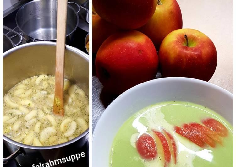Apfel-Lauch-Pastinaken-Suppe