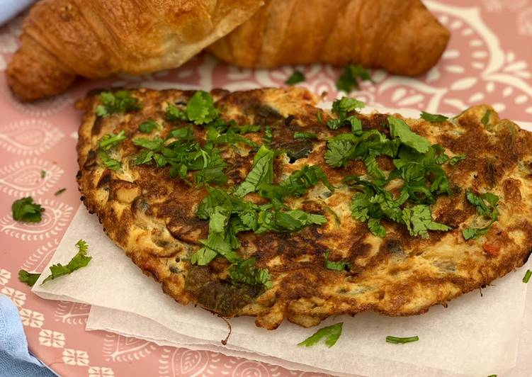 Masala Omelette (with a twist)
