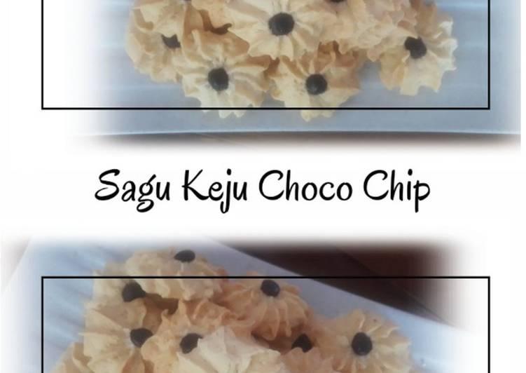 Sagu Keju Choco Chip