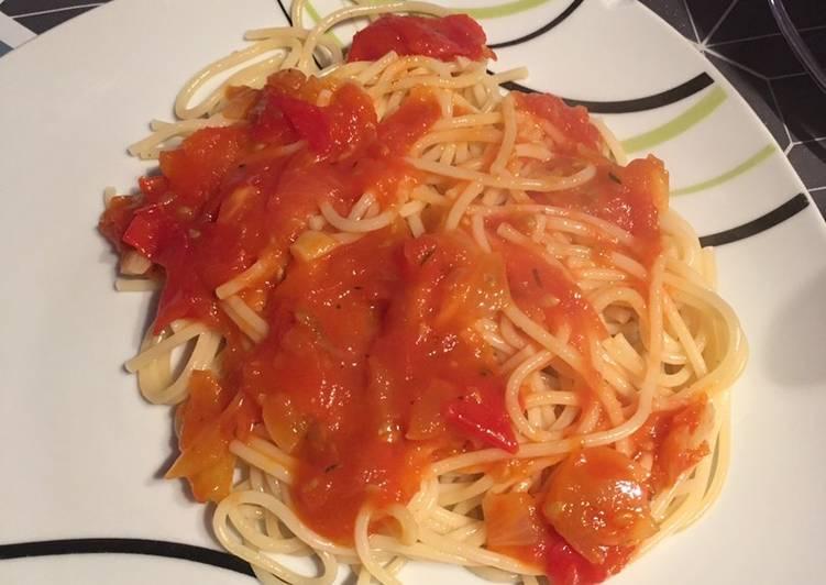 Sauce tomate mamounette