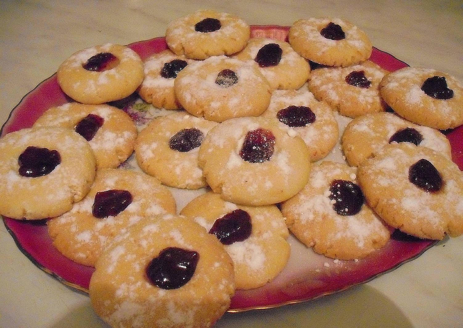 рассказывайте, печенье на маргарине с джемом фото должен