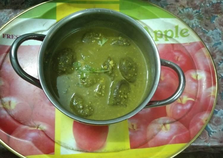 Recipe of Award-winning Spicy Palak Kofta Curry