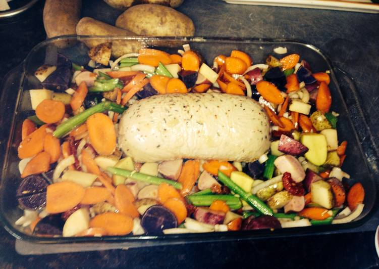 Tofurkey Roasted Veggies, Many Of You Might Not Recognize This But Coconut Oil Can Have Great Health Advantages To It