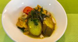 Hình ảnh món Canh chuối xanh nấu mẻ