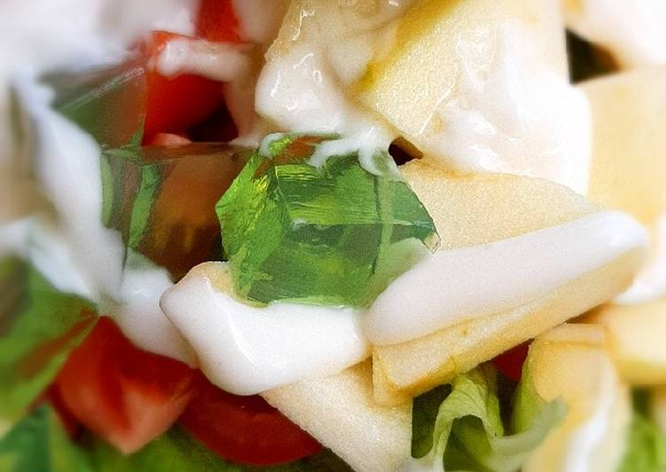 Salad sayur buah
