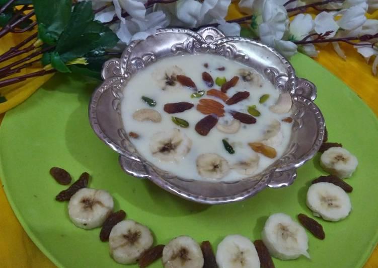 Step-by-Step Guide to Make Perfect Banana Sago Payasam