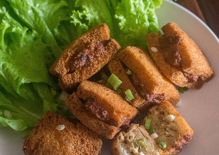 3 Langkah Resep Sandwich Goreng Udang Mian Bao Xia Yang Cepat