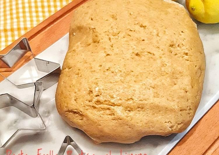 Ricetta Pasta Frolla Rustica al Limone