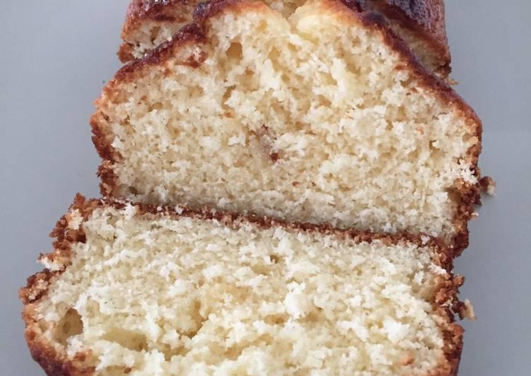 recette Gâteau au yaourt à la vanille Le plus simple