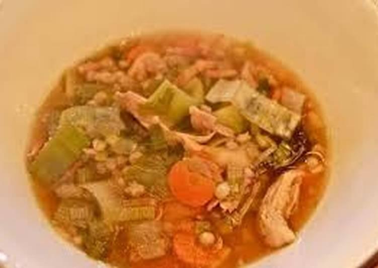 Steps to Prepare Homemade Cock Soup