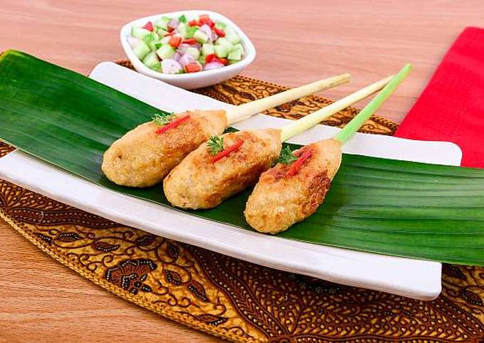 Simple Way to Make Perfect Resep Sate Tahu Pentul