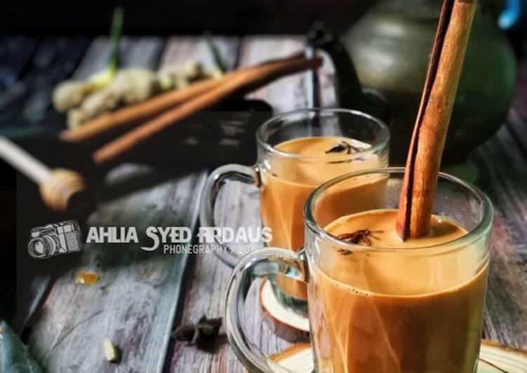 Masala chai #Maratonraya #Minuman #Minggu2 - resepipouler.com
