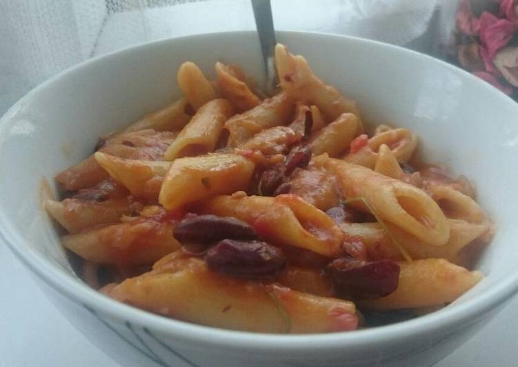 Step-by-Step Guide to Make Homemade Pasta with Kidney Beans