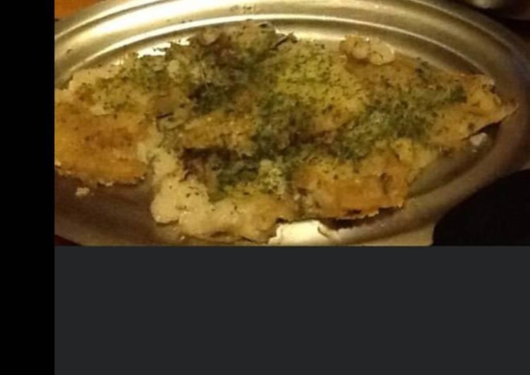 La Meilleur Recette De Filets de cabillaud pané et ses oignons confits