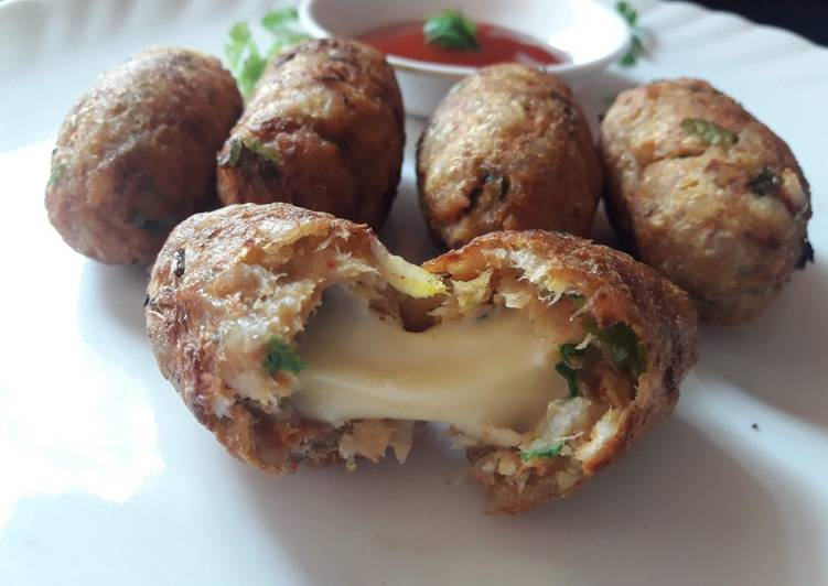Recipe of Ultimate Banana cheese nuggets