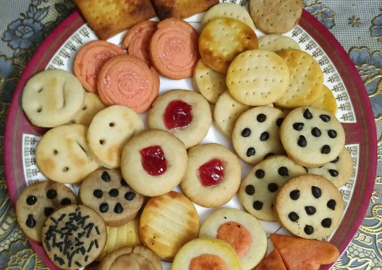 Steps to Prepare Perfect Butter cookies