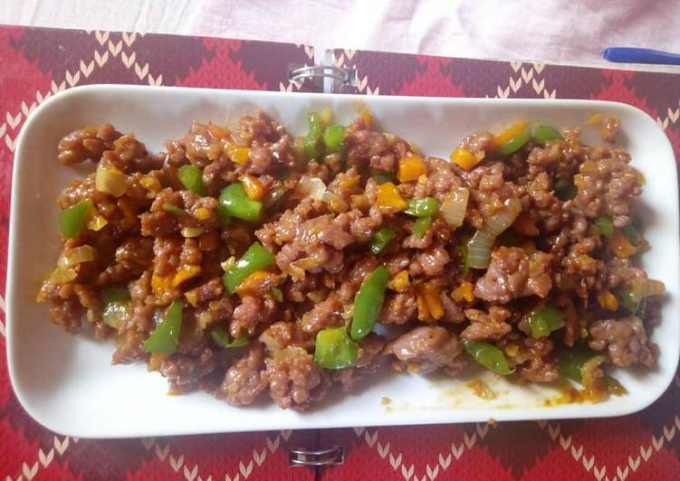 Mince beef Sauce
