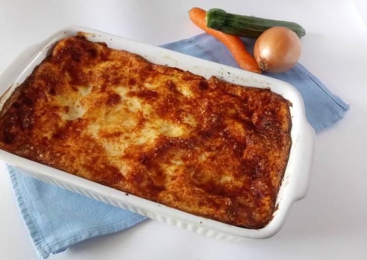 Recipe: Delicious Lasagne alle verdure