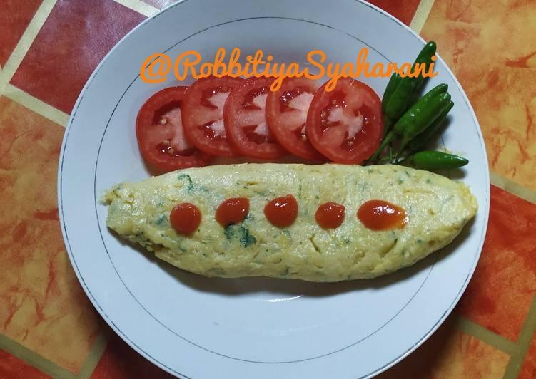 Resep Omelette ala bunda Aira Paling Mudah