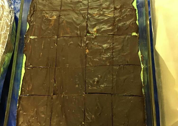 Chocolate Mint Dessert