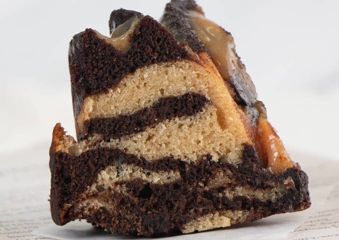 Step-by-Step Guide to Make Speedy Peanut Butter Chocolate Cake with Peanut Butter Sauce