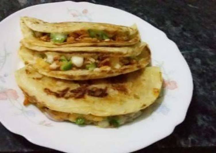 The Best Soft and Chewy Dinner Easy Love Stuffed Paratha