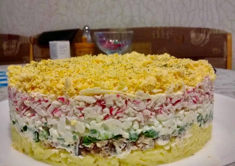 Recette: Délicieux Salade «aristocrate»