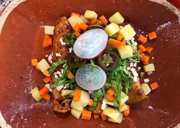 Enchiladas Queretanas (Querétaro)