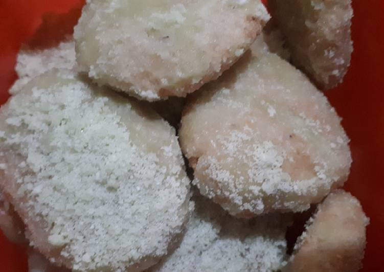 Gemblong gula pandan