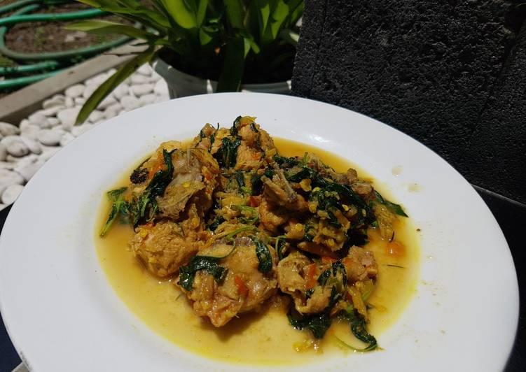 Ayam Rica Kemangi, khas Manado