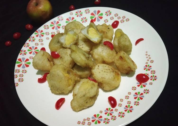 25 Minute Recipe of Royal Falhari Apple🍎pakoda (shivratri special)
