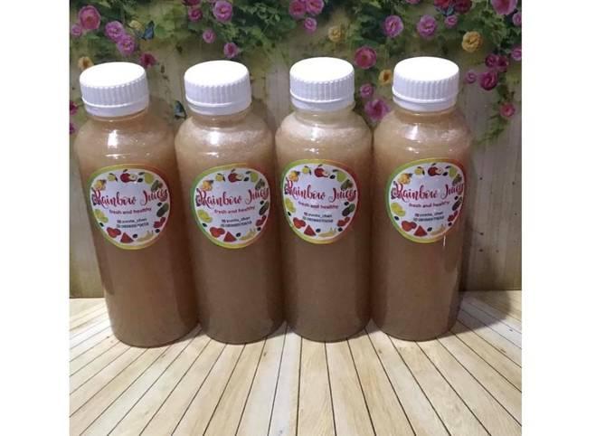 Diet Juice Cucumber Orange Grape Pomegranate