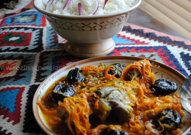 Recipe of Ultimate Carrot and prunes stew