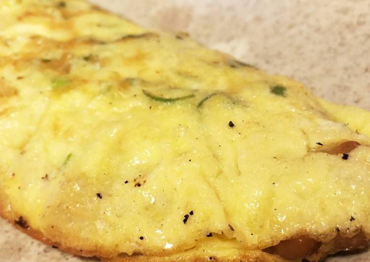 How to Prepare Appetizing Natto omelet