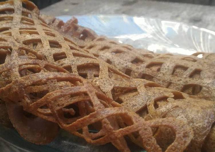 Roti Jala Coklat Manis