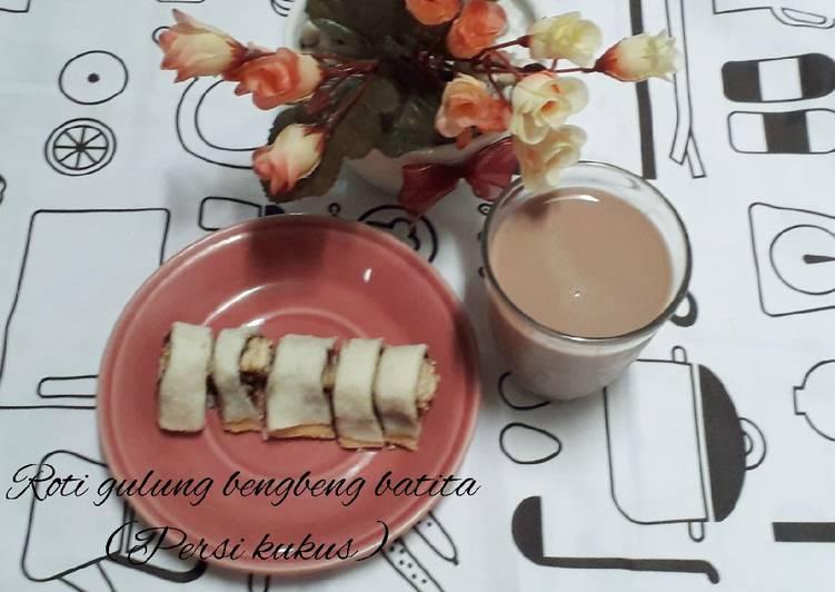 Resep Roti gulung bengbeng batita(persi kukus) Paling Gampang