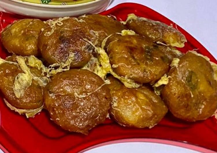 Prekedel kentang daging cincang