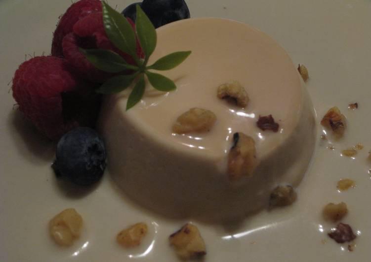Walnut Blanc-manger