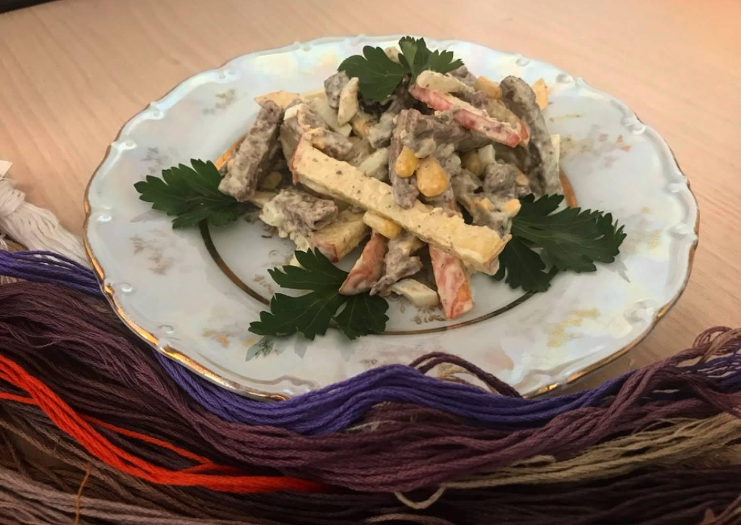 салат гурман рецепт с фото