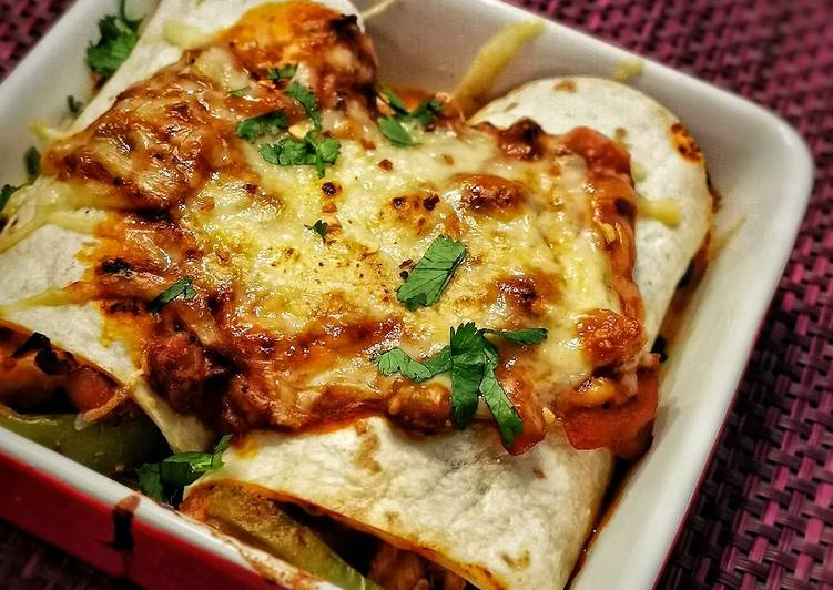 Recipe of Homemade Spicy Enchiladas