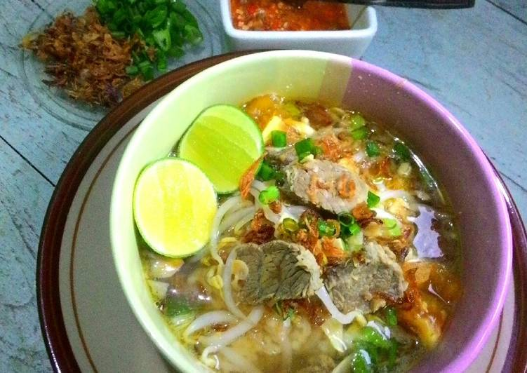 Resep Soto Daging Sapi Bening Solo Oleh Ayu Wulansari Cookpad