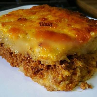 Pastelon De Platano Maduro Dominican Food Receta De Chef Diosa Cookpad