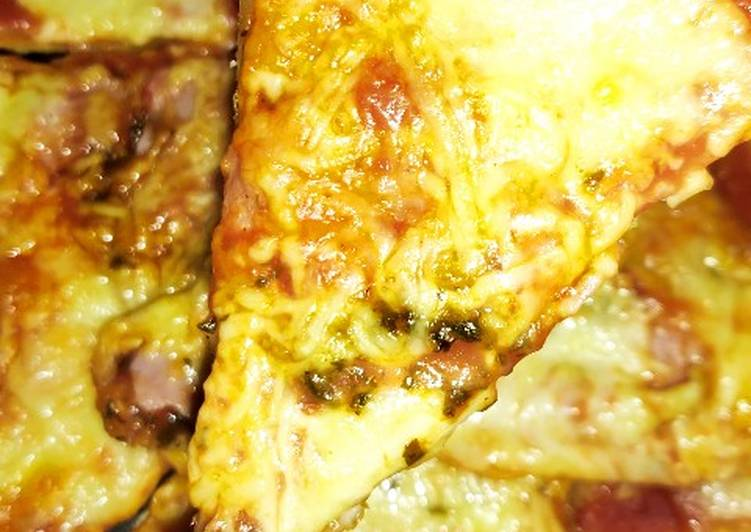 ♨️ Pâte à pizza express ♨️