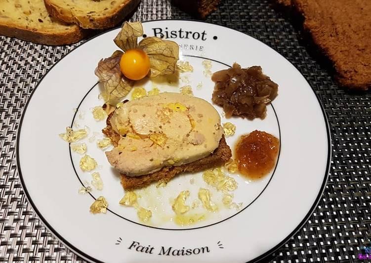 Foie gras Fleur de Sel aux 3 poivre, Sichuan et madère